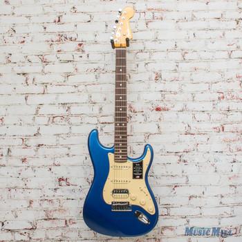 Fender American Ultra Stratocaster® HSS, Rosewood Fingerboard, Cobra Blue x1269