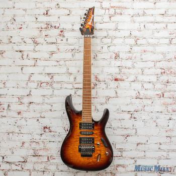 Ibanez S670QM Electric Guitar - Dragon Eye Burst x9727