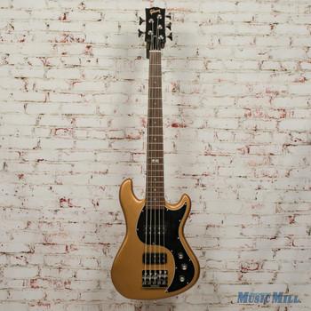 2014 Gibson EB Bass 5 String Bass- Bullion Gold Vintage Gloss w/Bag x5528