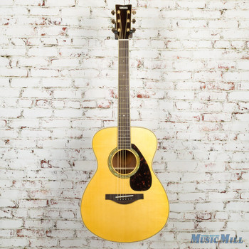 Yamaha LS6M Are Small Body Acoustic Electric Guitar - Natural