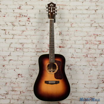Guild D-140 Antiqueburst Acoustic Dreadnought Guitar B-Stock x1312