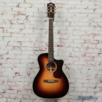 Guild OM-140CE Antiqueburst B-Stock Acoustic/Electric Guitar x7312