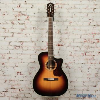 Guild OM-140CE Antiqueburst Acoustic/Electric Guitar B-Stock x1763