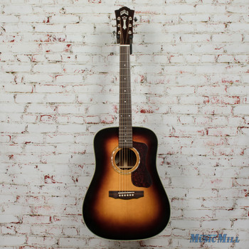 Guild D-140 Antiqiueburst Acoustic Dreadnought Guitar B-Stock x3426