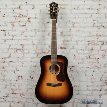Guild D-140 Antiqueburst Acoustic Dreadnought Guitar B-Stock x2748