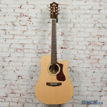 Guild D-140CE Acoustic/Electric Dreadnought Guitar Natural B-Stock x8079