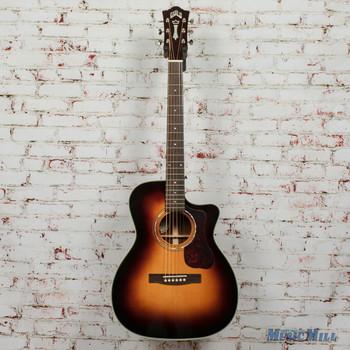 Guild OM-140CE Antiqueburst Acoustic/Electric Guitar B-Stock x0436