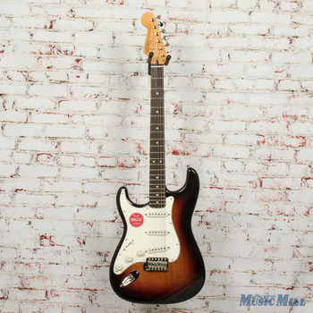 Squier Classic Vibe '60s Stratocaster® Left-Handed, Laurel Fingerboard, 3-Color Sunburst x2885