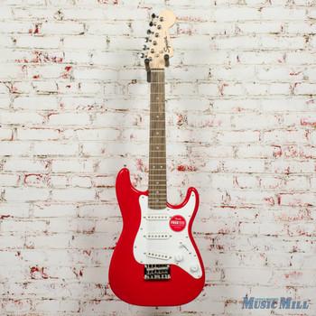 Squier Mini Stratocaster®, Laurel Fingerboard, Torino Red x7968