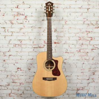 Guild D-140CE Acoustic/Electric Dreadnought Guitar Natural B-Stock x4840