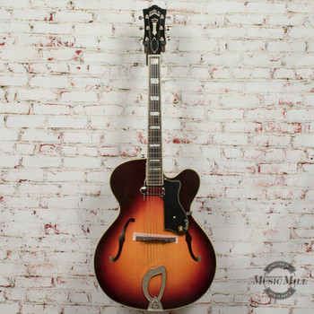 Guild A-150 Hollow Body Electric Guitar Savoy Antique Burst –3796000837–MSRP-$1,710 x5869