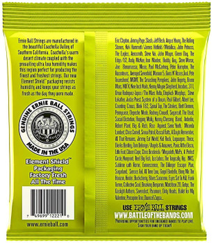 Ernie Ball 2221 Regular Slinky Nickel Wound Guitar Strings - .010-.046