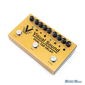 Visual Sound Dual Tap Delay Pedal x1611 (USED)