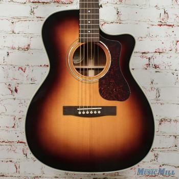 Guild OM-140CE Antiqueburst Acoustic/Electric Guitar B-Stock x1535