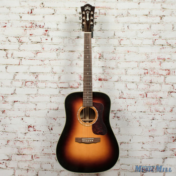 Guild D-140 Acoustic Guitar Antiqueburst B-Stock x0377