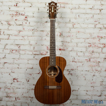 Guild M-120E Acoustic/Electric Guitar Natural Mahogany Gloss B-Stock x1349