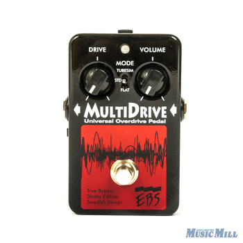 EBS Multidrive Overdrive/Distortion Guitar Pedal (USED)
