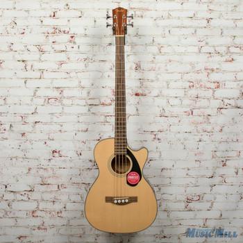 Fender CB-60SCE Bass, Laurel Fingerboard, Natural DEMO - iwa1944524