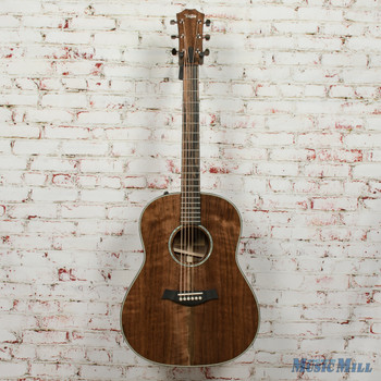 Taylor Custom Grand Pacific All Walnut Acoustic/Electric Guitar Natural x0007