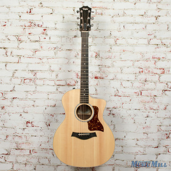 Taylor 214ce Deluxe Grand Auditorium   Acoustic/Electric Guitar Natural x9444