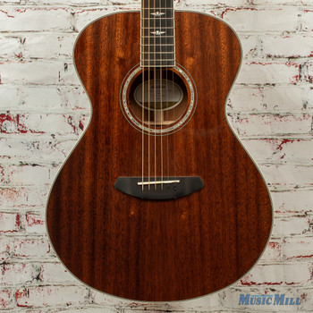 Breedlove Stage Concert E Acoustic/Electric Guitar All Mahogany Natural Gloss x8821