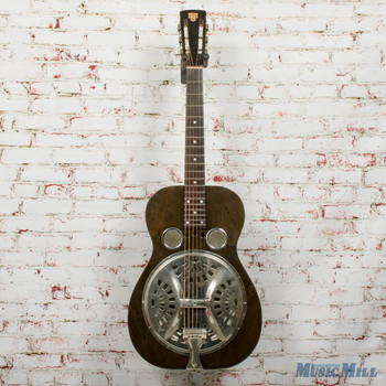 Vintage 1932 Dobro Model 45 Round Neck Acoustic Guitar Natural x2985 (USED)