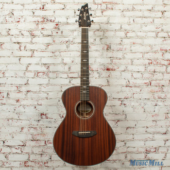 Breedlove Stage Concert E Acoustic/Electric Guitar All Mahogany SATIN x0751