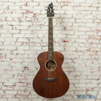 Breedlove Stage Concert E Acoustic/Electric Guitar All Mahogany Natural SATIN x4438