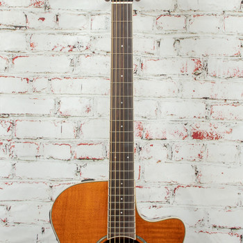 Yamaha APX600FM-AM Acoustic/Electric Guitar Flamed Maple Natural x7263