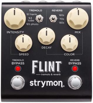 Strymon Flint Tremolo & Reverb Pedal - Cream Knob