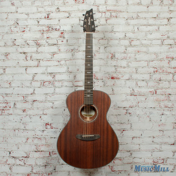 Breedlove Stage Concert E Limited Acoustic/Electric Guitar Satin Mahogany x8319