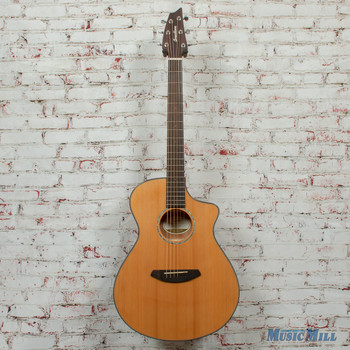 Breedlove Pursuit Concert CE Acoustic/Electric Guitar Red Cedar-Mahogany Natural Gloss x5242