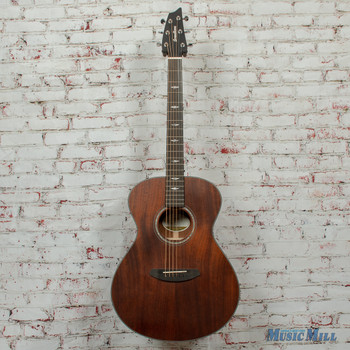 Breedlove Stage Concert E Limited Acoustic/Electric Guitar Satin Mahogany x5871