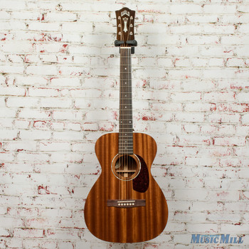Guild M-120E Acoustic/Electric Guitar Natural Mahogany Gloss x1329