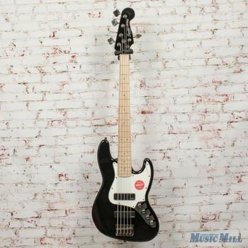 Squier Contemporary Active Jazz Bass® V HH, Maple Fingerboard, Black Demo - ics18133185