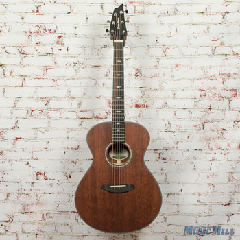 Breedlove Stage Concert E Limited Acoustic/Electric Guitar Satin Mahogany X9538 (USED)