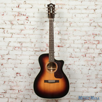 Guild OM-140CE Acoustic/Electric Guitar Antiqueburst B-Stock x1770