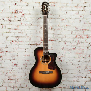 Guild OM-140CE Acoustic/Electric Guitar Antiqueburst B-Stock x1750