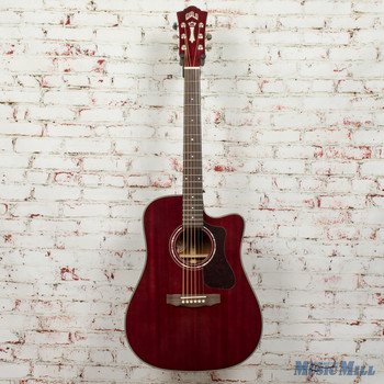 Guild D-120CE Acoustic Electric Guitar Cherry Red MSRP $1,115 x2715