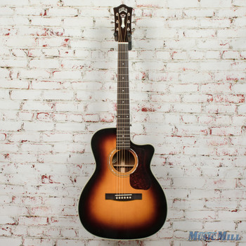 Guild OM-140CE Acoustic/Electric Guitar Antiqueburst B-Stock x1740