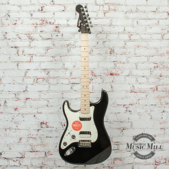 Squier Contemporary Stratocaster HH Left-Handed Black Metallic (DEMO) x2051