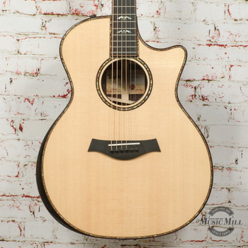 Taylor 914ce V-Class Acoustic/Electric Guitar Natural x0093