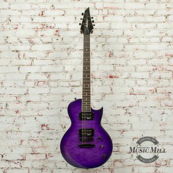 Jackson JS Series Monarkh SC JS22Q Transparent Purple Burst (DEMO) x8902