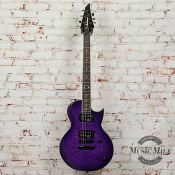 Jackson JS Series Monarkh SC JS22Q Transparent Purple Burst (DEMO) x9223