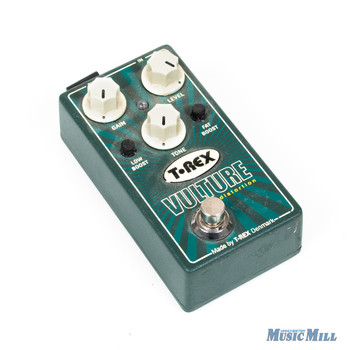 T-Rex Engineering Vulture Distortion Guitar Effects Pedal with Low and Fat Boost x9885 (USED)