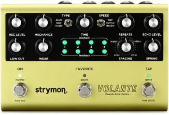 Strymon Volante Magnetic Echo Machine Delay Effects Pedal