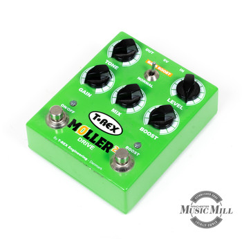 T-Rex Moller 2 Overdrive/Clean Boost Pedal (DEMO) x9883