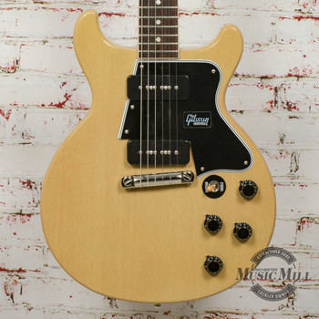 Gibson '60 Les Paul Junior Special Double Electric Guitar TV Yellow x1083