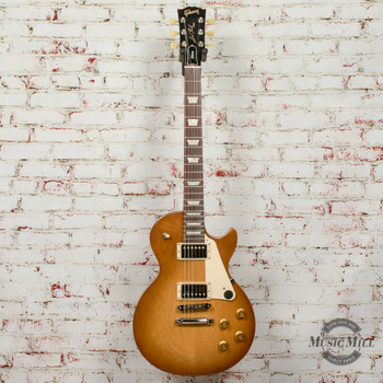 Gibson Les Paul Tribute Satin - Honeyburst x0126+ FREE HOODED SWEATSHIRT