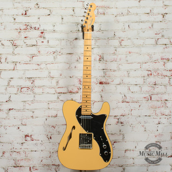 Fender Britt Daniel Telecaster Thinline Electric Guitar (DEMO) x4548